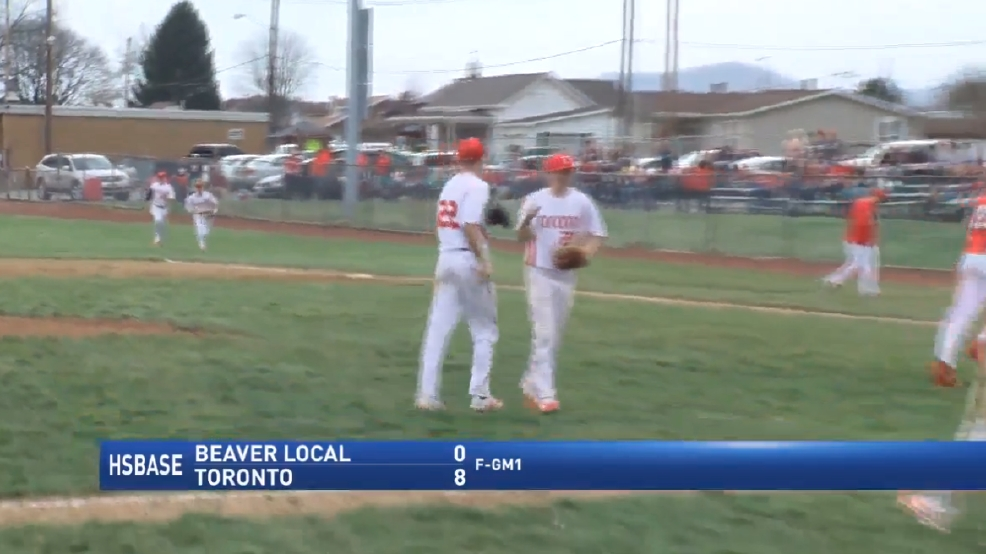3.25.17 Highlights - Toronto baseball sweeps season-opening double-header