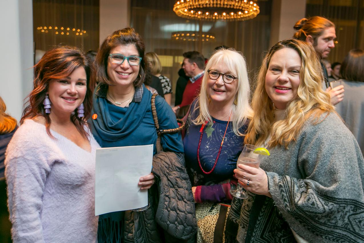 Tara Lorton, Ingrid Jones, Sharon Cook, and Robin Dodd{ }/ Image: Mike Bresnen Photography // Published: 11.16.18