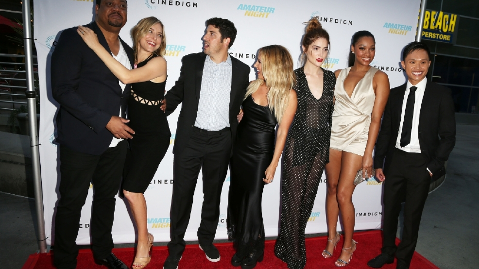 PHOTOS | Red carpet looks from 'Amateur Night' premiere