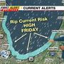 Rip current risk too high for safe swimming in Lake Michigan today