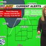 Heavy rain, melting snow over next two days brings flooding concerns