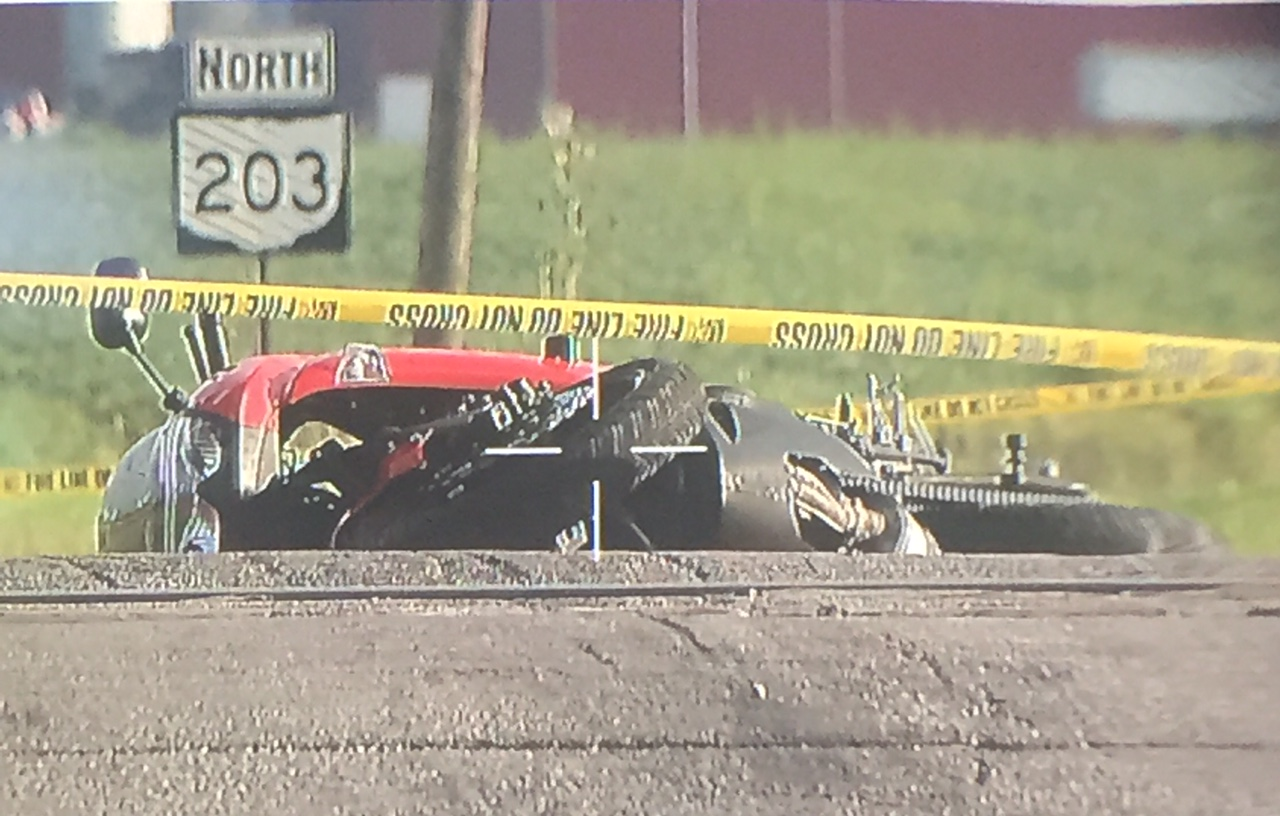 Per the Ohio State Highway Patrol, the deadly crash happened around 5 a.m. at the intersection of SR-203 and SR-95. (WSYX/WTTE)