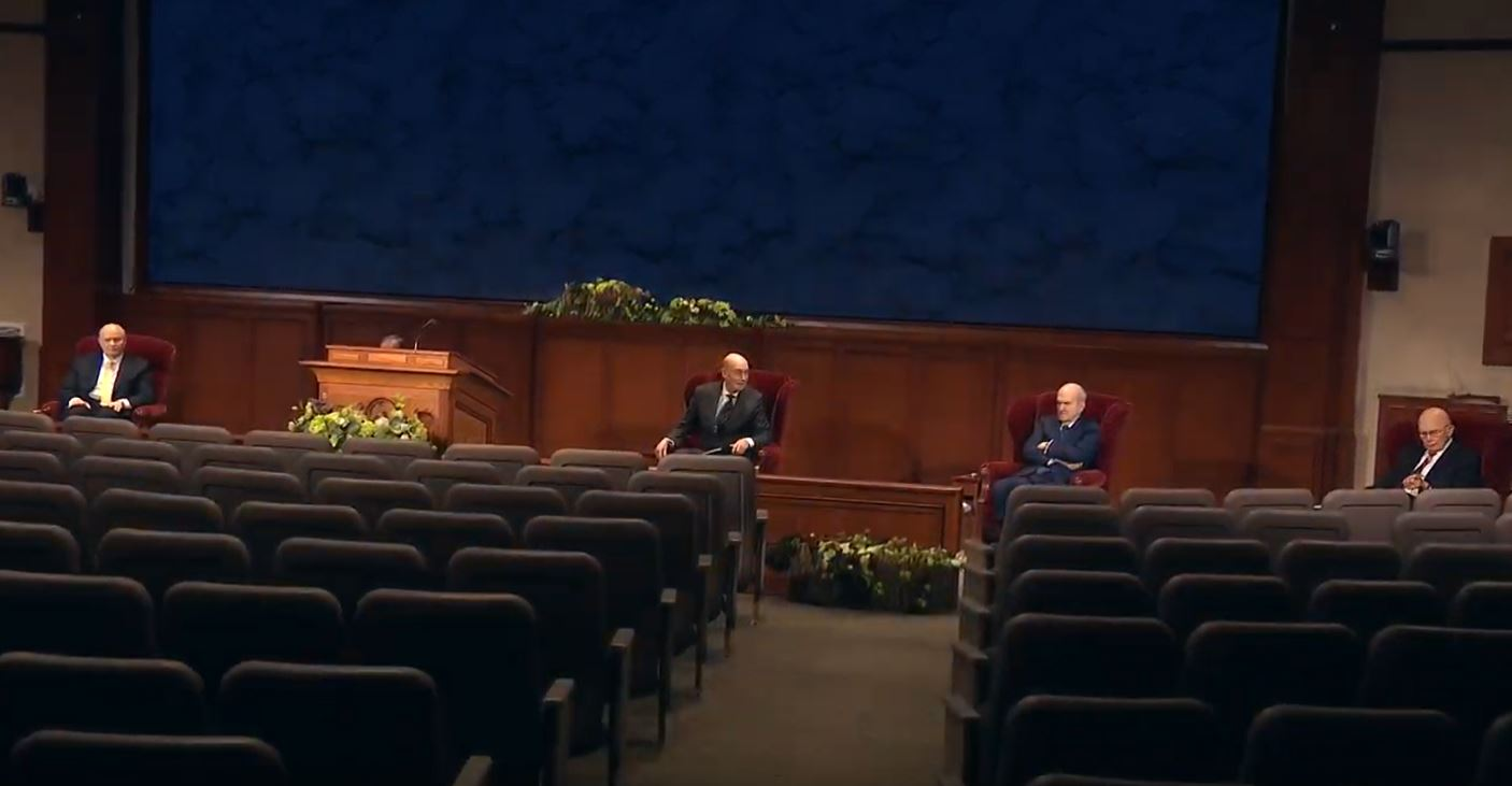 The First Presidency{&nbsp;}(Photo: YouTube / screengrab)<p></p>