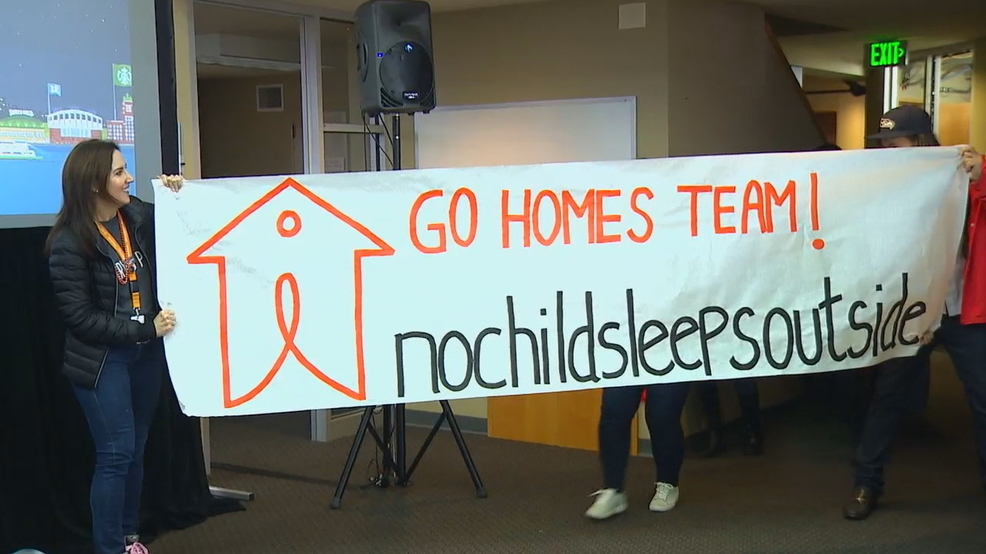 No Child Sleeps Outside fundraiser begins for Seattle shelters
