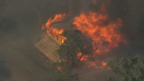 Wildfire SE of The Dalles destroys 1 home, outbuildings, grows to 20,000 acres