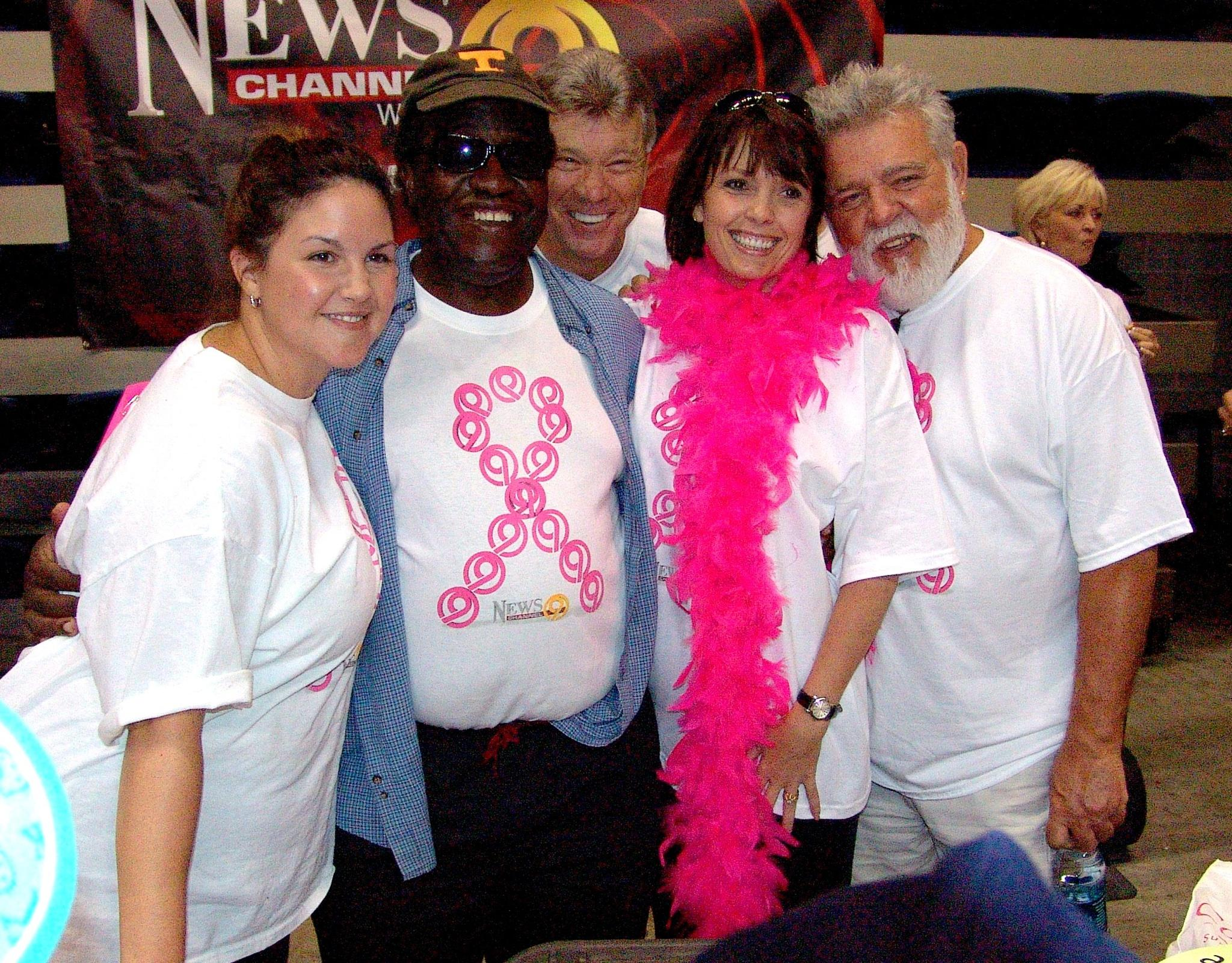 "Don at a recent ""Pink!"" fundraiser. (Image via John Creel)"