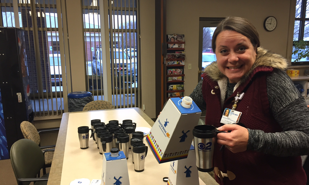 Mugshot Mondays: This week's winner is the St. Luke's Internal Medicine in Boise! Bryan Levin and Kelsey Anderson helped deliver free Dutch Bros. Coffee and KBOI mugs!Want your business to be next? Enter: http://bit.ly/1UoKo3X