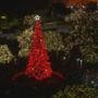 Christmas tree lights up Travis Park after months of controversy