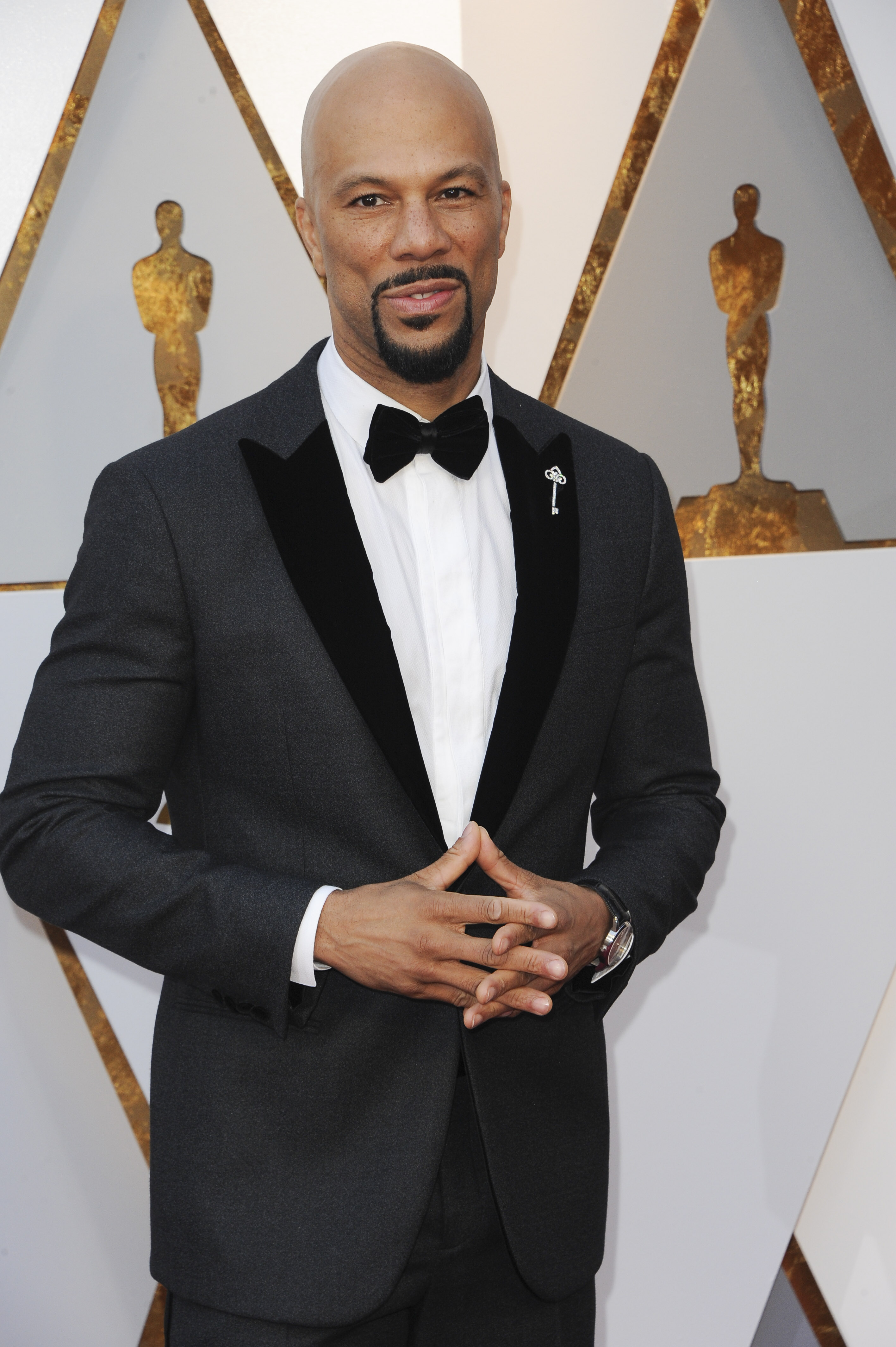 Common arrives at the 90th Annual Academy Awards (Oscars) held at the Dolby Theater in Hollywood, California. (Image: Apega/WENN.com)<p></p>