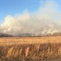 Large grass fire in Weleetka spans miles to Wetumka