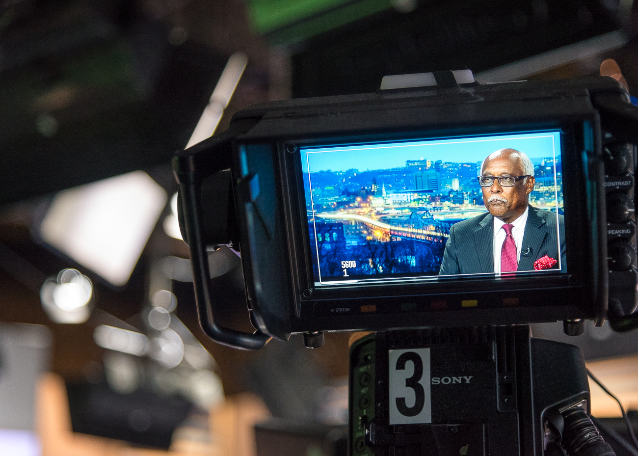 John Lomax, Local 12 News anchor / Image: Phil Armstrong, Cincinnati Refined // Published: 10.5.18