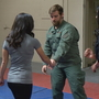 Learning to escape danger at International Women's Self-Defense Day event