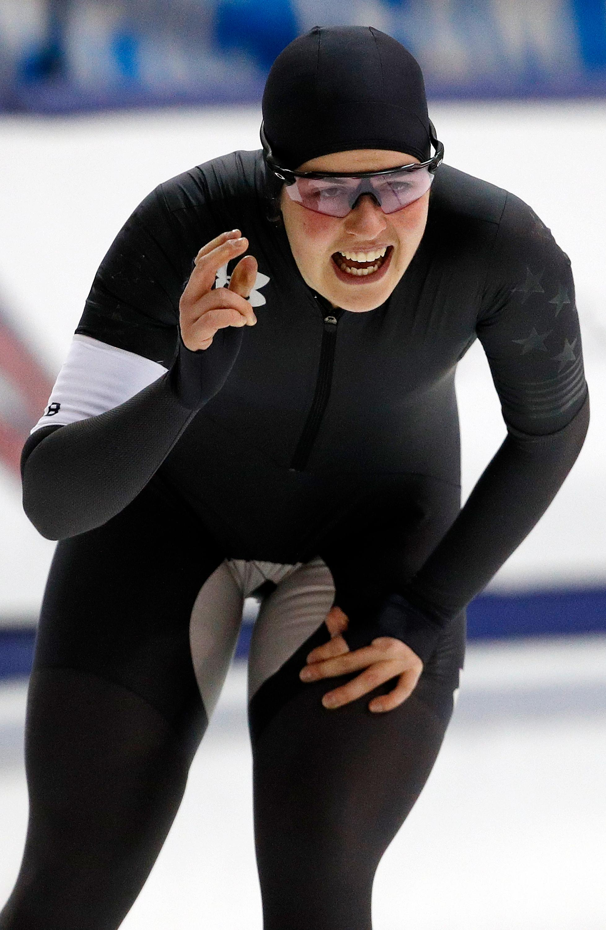 Schoutens Wins 3 000 To Earn Us Olympic Speedskating Berth