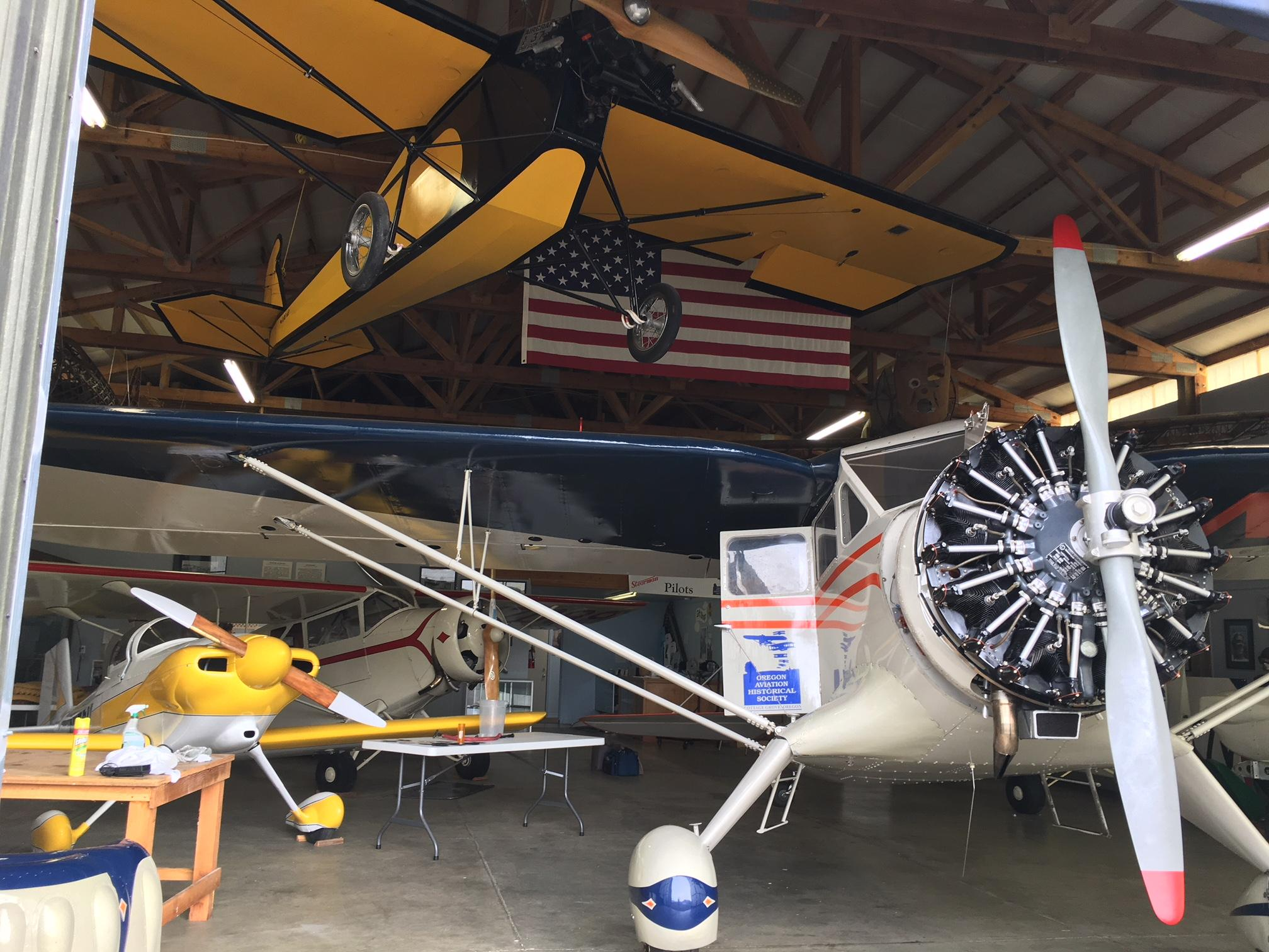 <p>The smoke hit the Oregon Aviation Historical Society in Cottage Grove especially hard. &quot;A couple of our guys turned around at the Columbia Gorge as that wall of smoke was just too much for them to get through,&quot; said Cassandra Barrong with the aviation society. (SBG)</p>